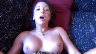 Girlfriend with amazing seductive body looking really sexy and hot