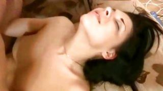Homemade picks where sexy couple of lovers is passionately making out