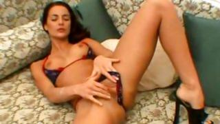 Homemade porn including nasty girlfriend showing off her amazing butt