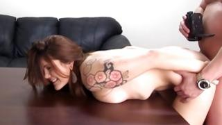 She is making bigger her snug anus cleft over and above Mr. recording this dirty positions