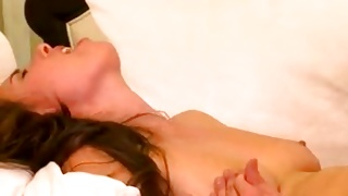 Naked whore gets hammered from behind rough
